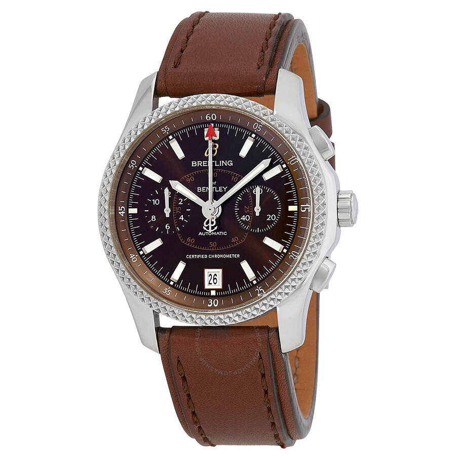 Breitling Bentley Mark VI Automatic Chronograph Bronze Dial Mens Watch P2636..
