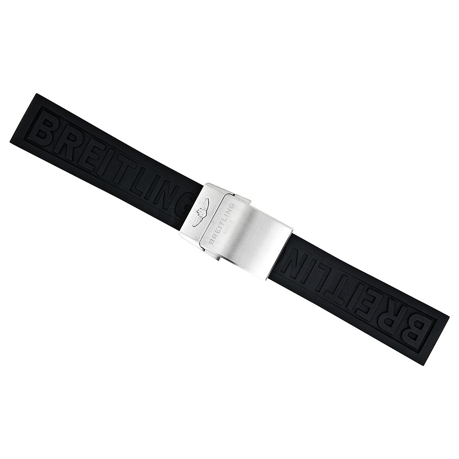 Breitling Black Diver Pro III Rubber Strap 22/20 MM