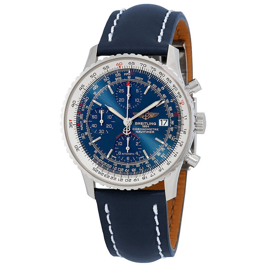 Breitling Navitimer Heritage Chronograph Automatic Blue ...