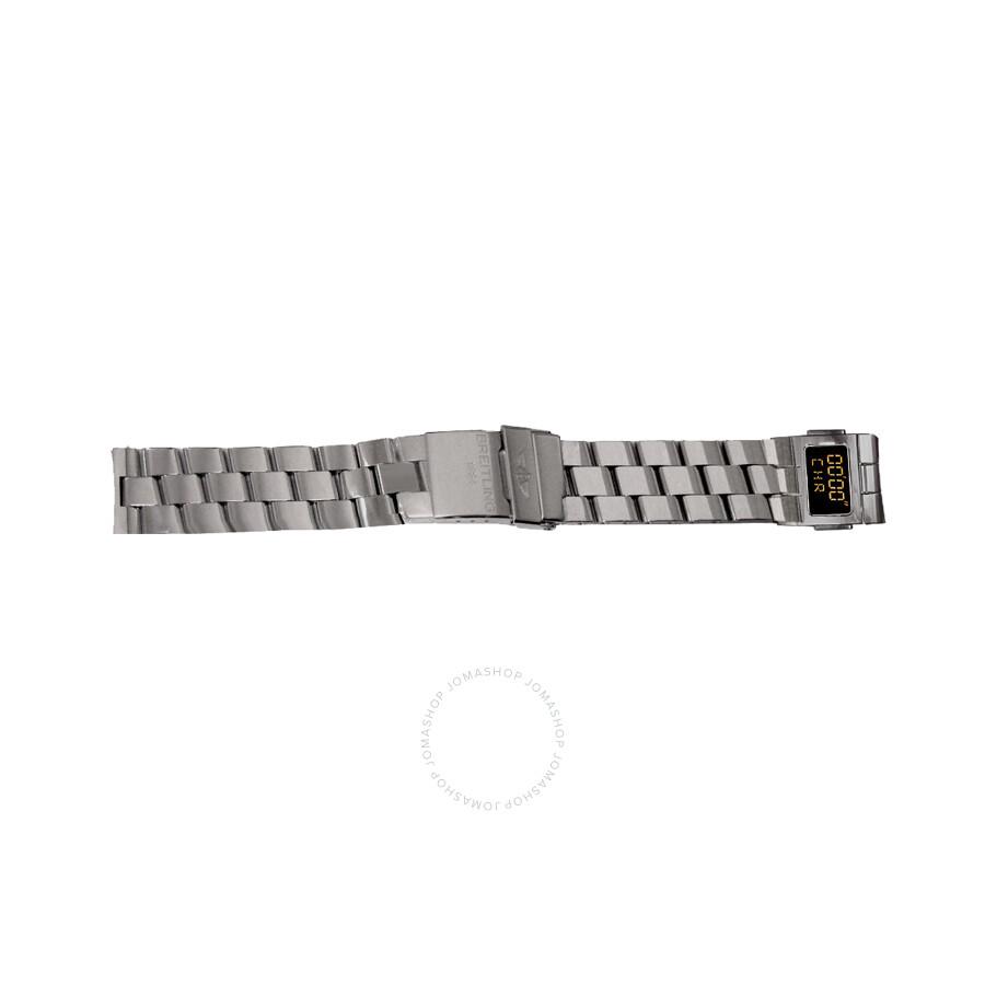 Breitling Professional Co-Pilot Titanium Bracelet Titanium Deployant Buckle ..