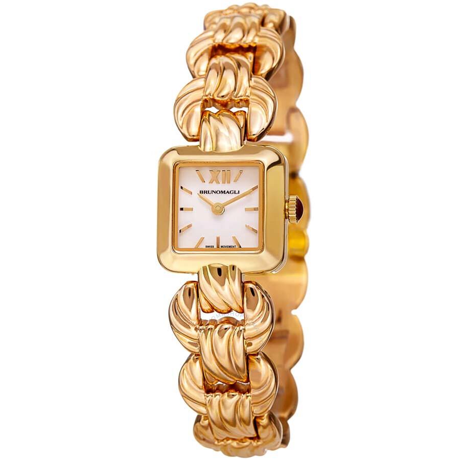 Bruno Magli Mira Swiss Quartz Link Bracelet Ladies Watch
