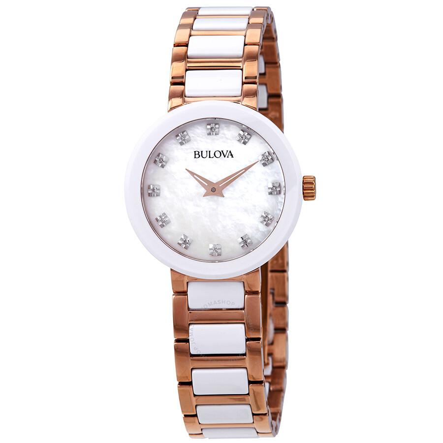 Bulova Diamond Ladies Watch 98P160