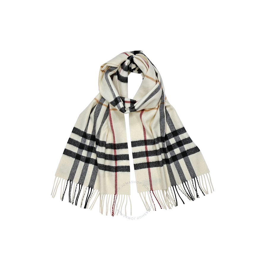 17ff9d187e1 low price burberry giant check ivory scarf patterns f15b6 09490