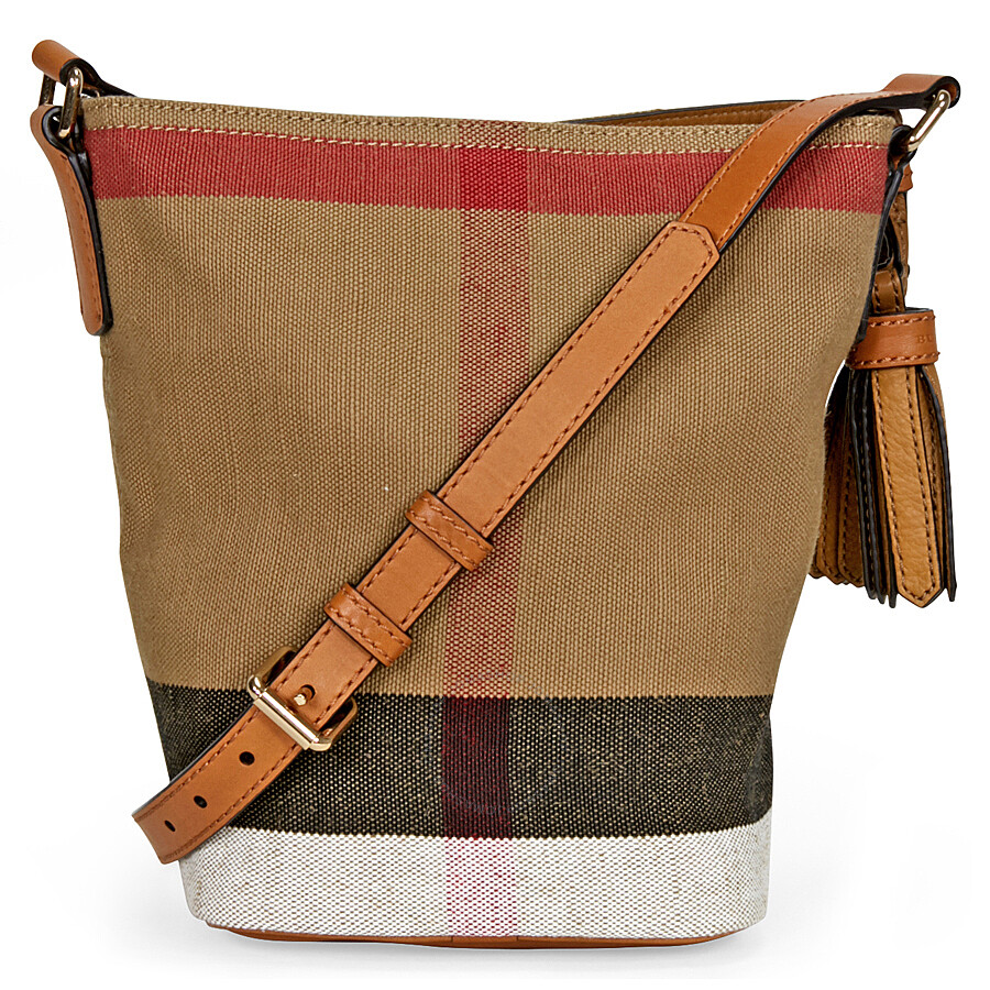 7a3b9d295721 Small Canvas Check And Leather Crossbody Bag - Best Canvas 2018