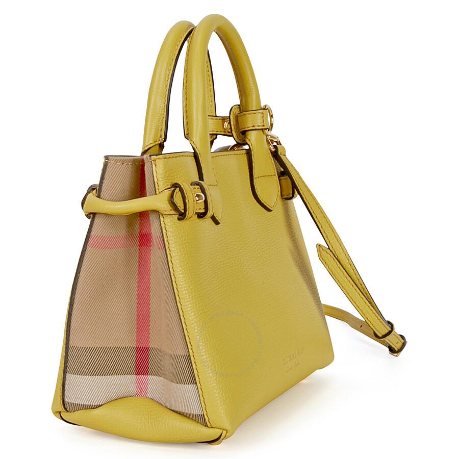 Burberry Yellow Handbag