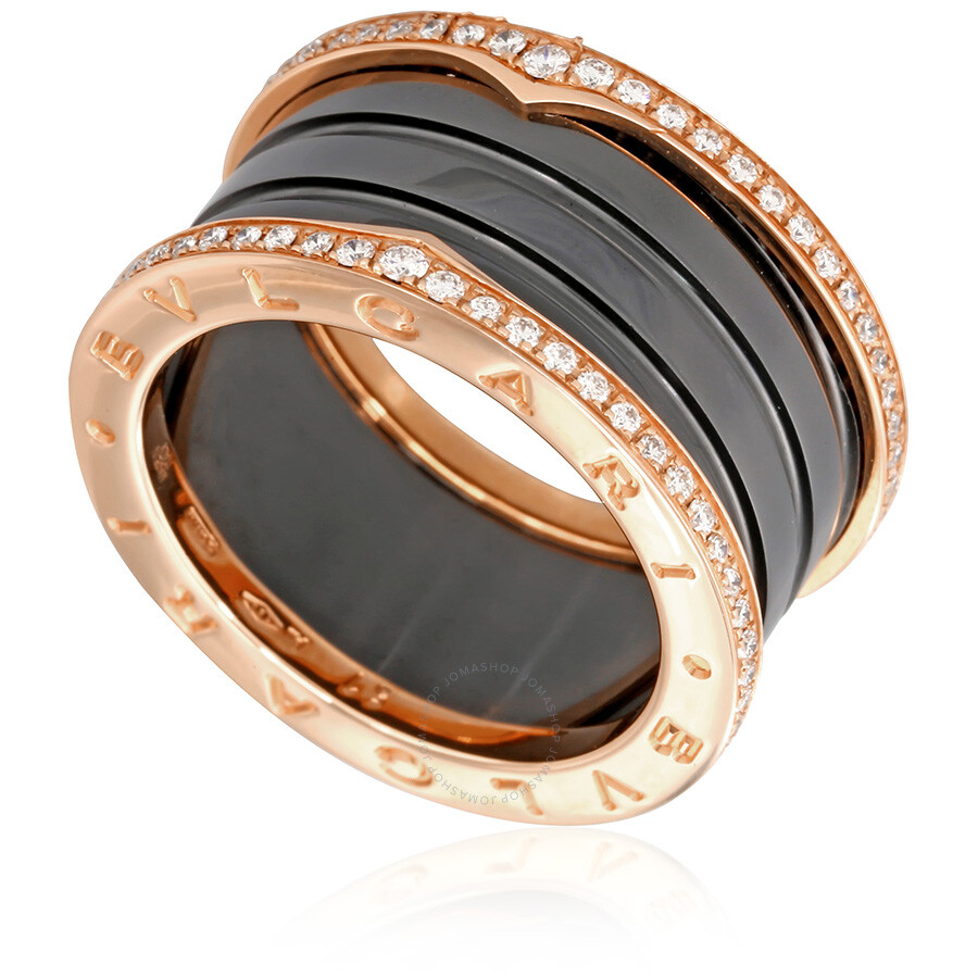 Bvlgari Ring Black