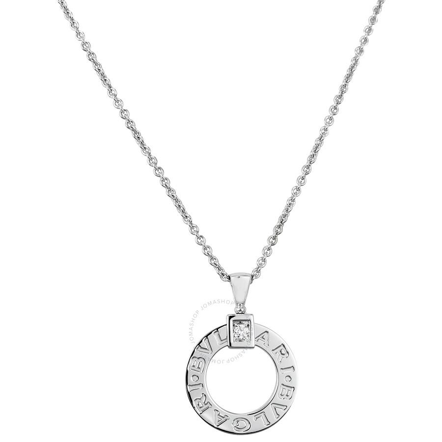 Bvlgari bvlgari 18k white gold diamond pendant 342074 bvlgari bvlgari bvlgari 18k white gold diamond pendant 342074 aloadofball Images