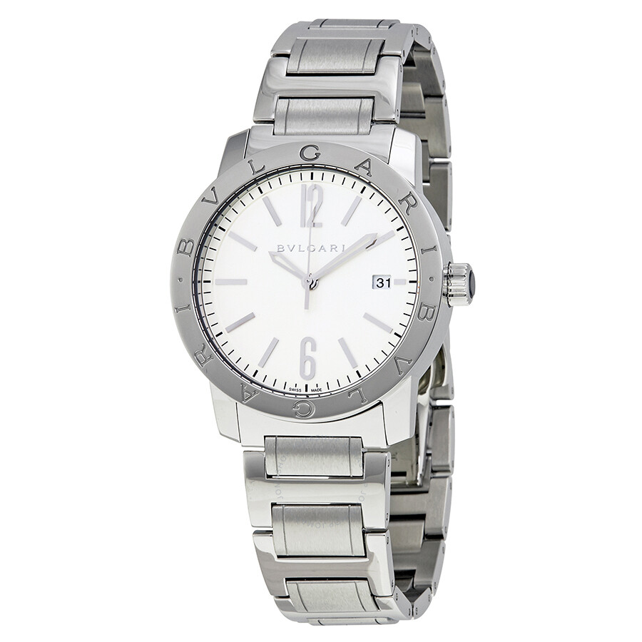 Bvlgari bvlgari automatic men 39 s watch 102110 bvlgari bvlgari bvlgari watches jomashop for Bvlgari watches
