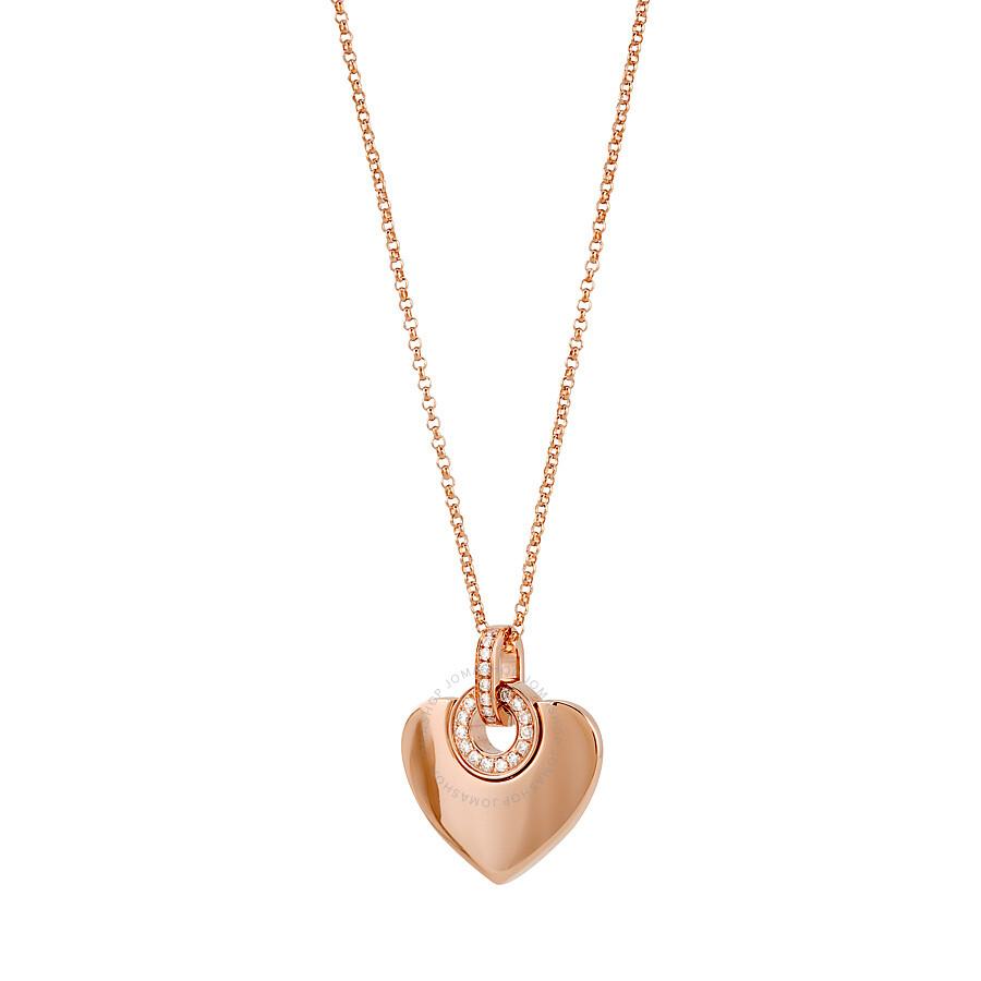 Bvlgari bvlgari cuore 18k pink gold diamond pendant and chain bvlgari bvlgari cuore 18k pink gold diamond pendant and chain necklace 350787 aloadofball Choice Image