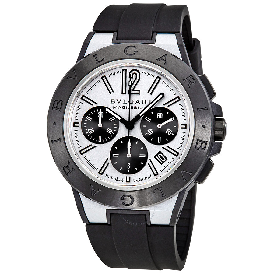 s steel watches men bvlgari bulgari stainless sc watch image mens chronograph catalog scuba diagono