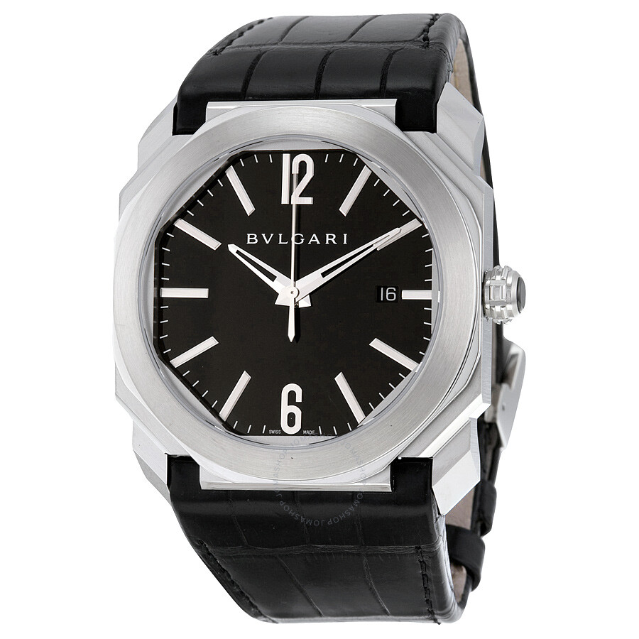 dial professional pro steel strap watch black main watches diagono acqua essential bvlgari on with in