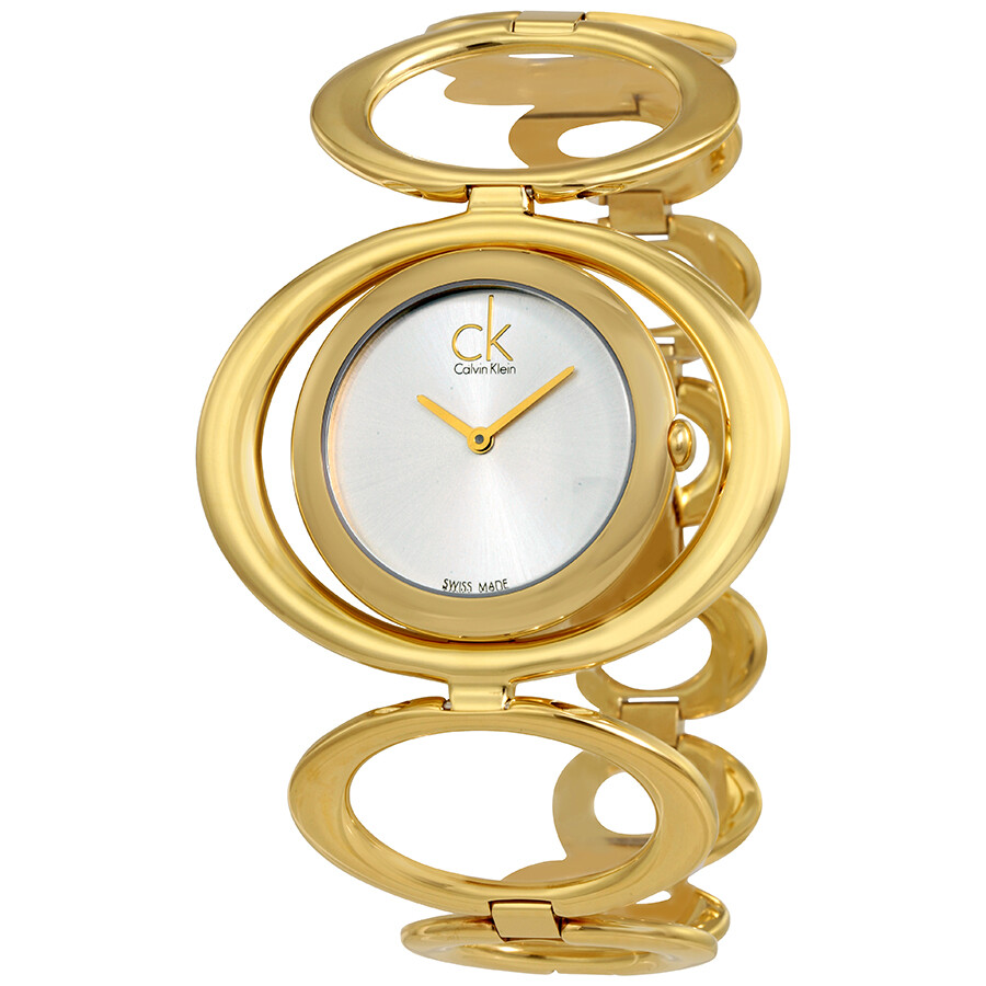 Calvin Klein Graceful Silver Dial Ladies Watch K1P23520