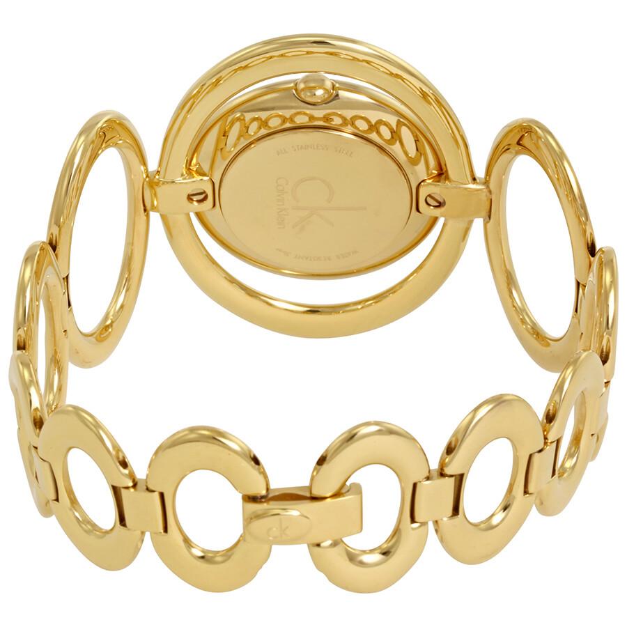 Calvin klein graceful gold watch