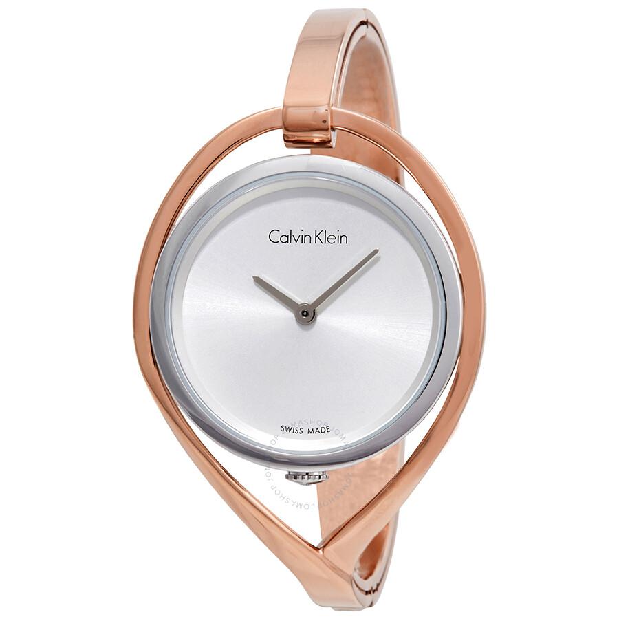 Calvin Klein Light Silver Dial Ladies Watch K6L2S1Z6