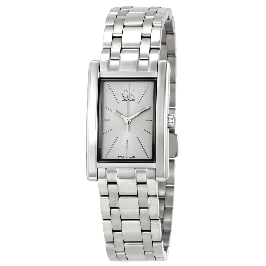 CALVIN KLEIN Refine White Dial Stainless Steel Ladies Watch
