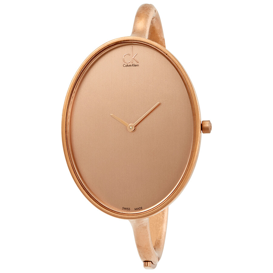 Calvin Klein Sartoria Rose Dial Ladies Watch K3D1S61A