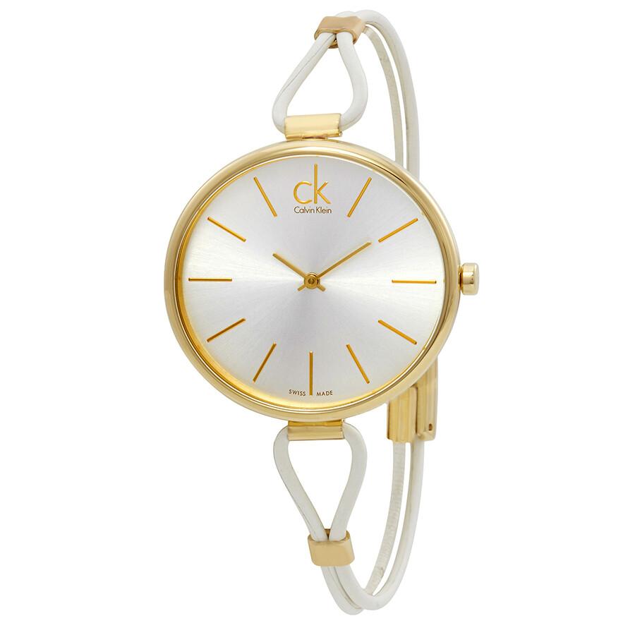 Calvin Klein Selection Silver Dial Ladies Watch K3V235L6