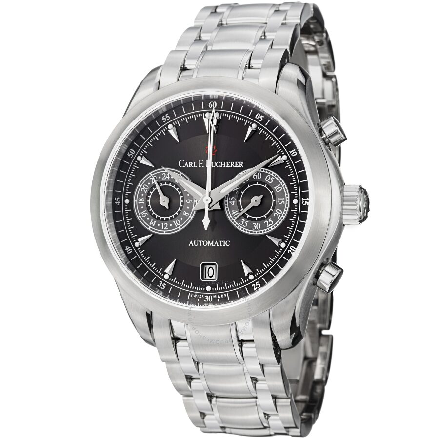 Carl F Bucherer Manero CentralChrono Black Dial Mens Watch 10910083321