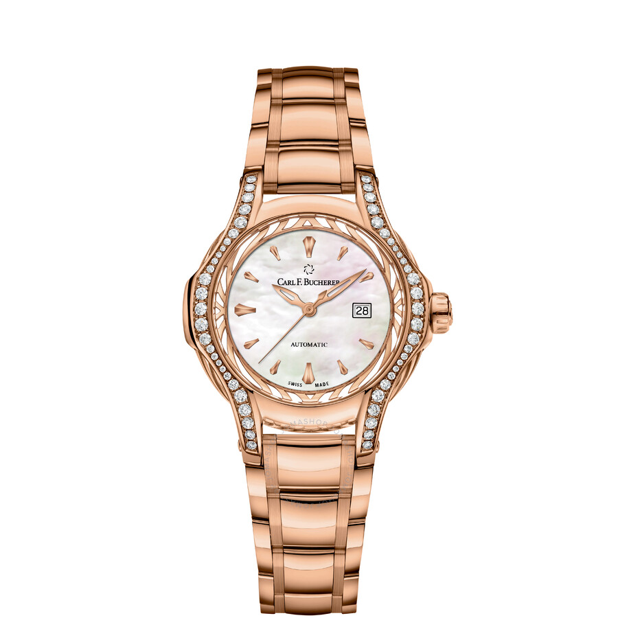 Carl F. Bucherer Pathos Diva Automatic Ladies Watch 00.10580.03.73.31.02