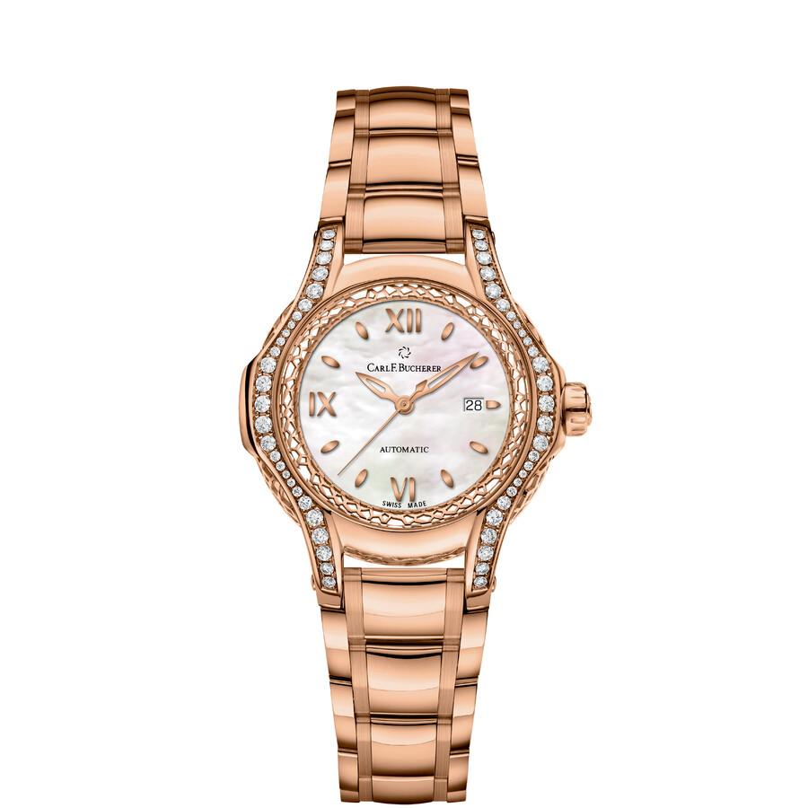 Carl F. Bucherer Pathos Diva Automatic Ladies Watch 00.10580.03.75.31.01