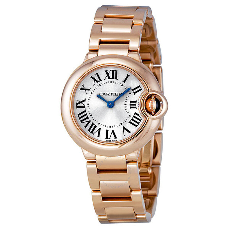 Cartier Ballon Bleu 18kt Pink Gold Small Ladies Watch W69002Z2