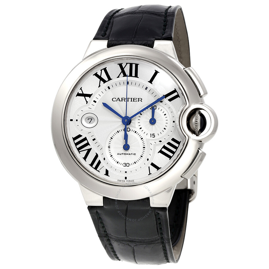 Cartier Ballon Bleu Chronograph Automatic Mens Watch W6920005