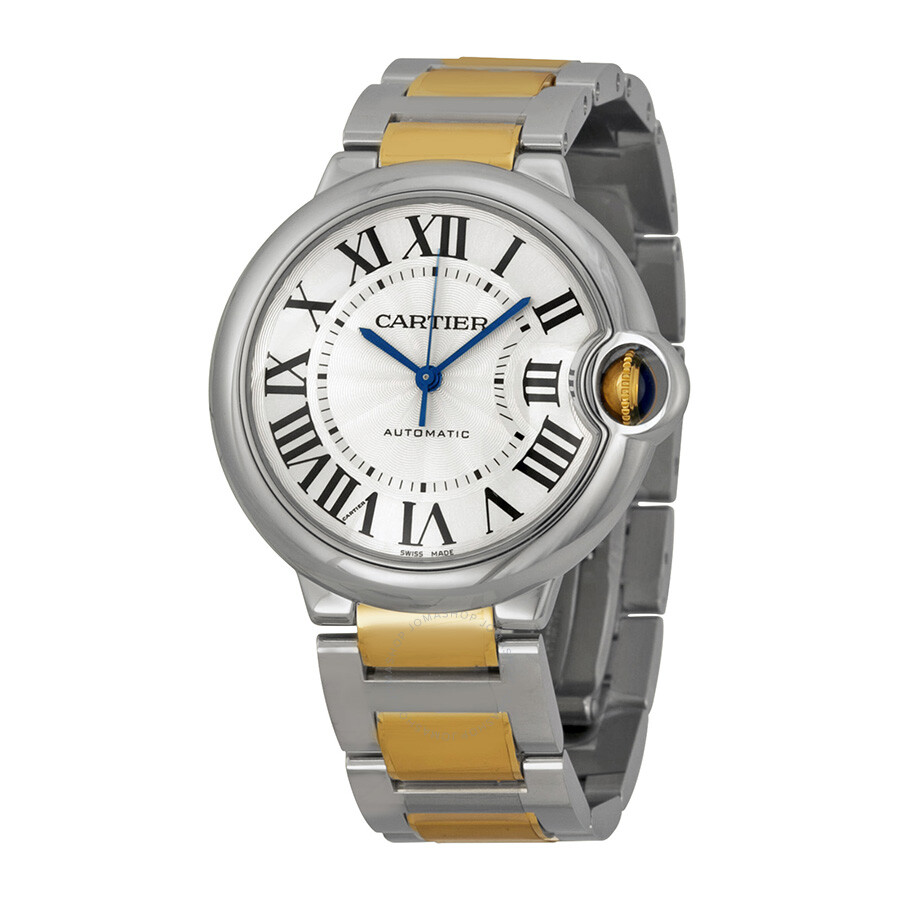 Cartier Ballon Bleu Automatic Silver Dial Unisex Watch W2BB0012