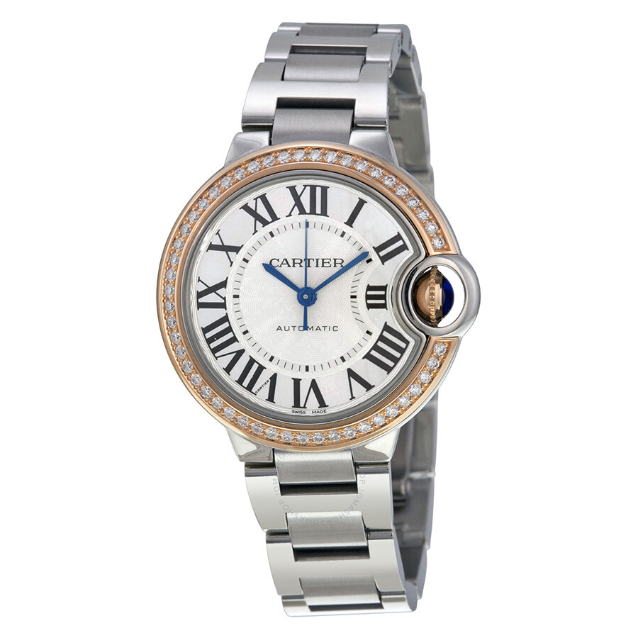 front pearl products of watch ladies with croton oval mother diamond dial markers silvertone