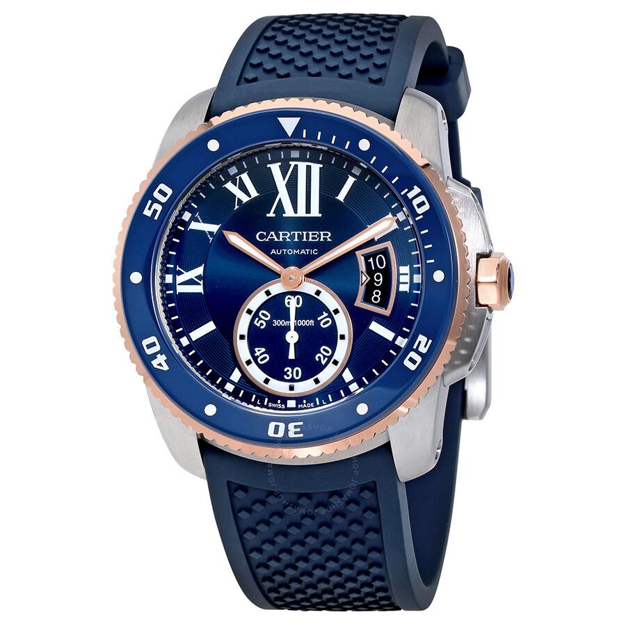 Cartier Calibre De Cartier Diver Automatic Mens Watch W2CA0009