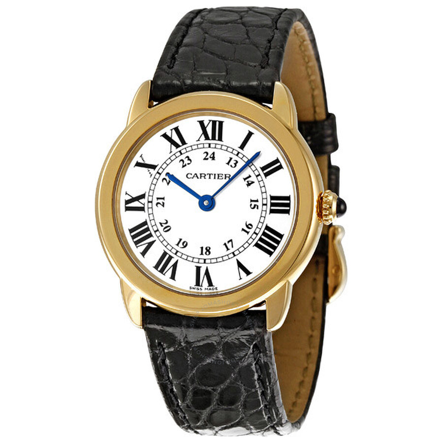 cartier ronde solo de cartier small ladies watch w6700355. Black Bedroom Furniture Sets. Home Design Ideas