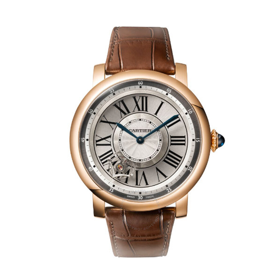 Cartier Rotonde de Cartier Astrotourbillon 18 kt Rose Gold Mens Watch W1556205