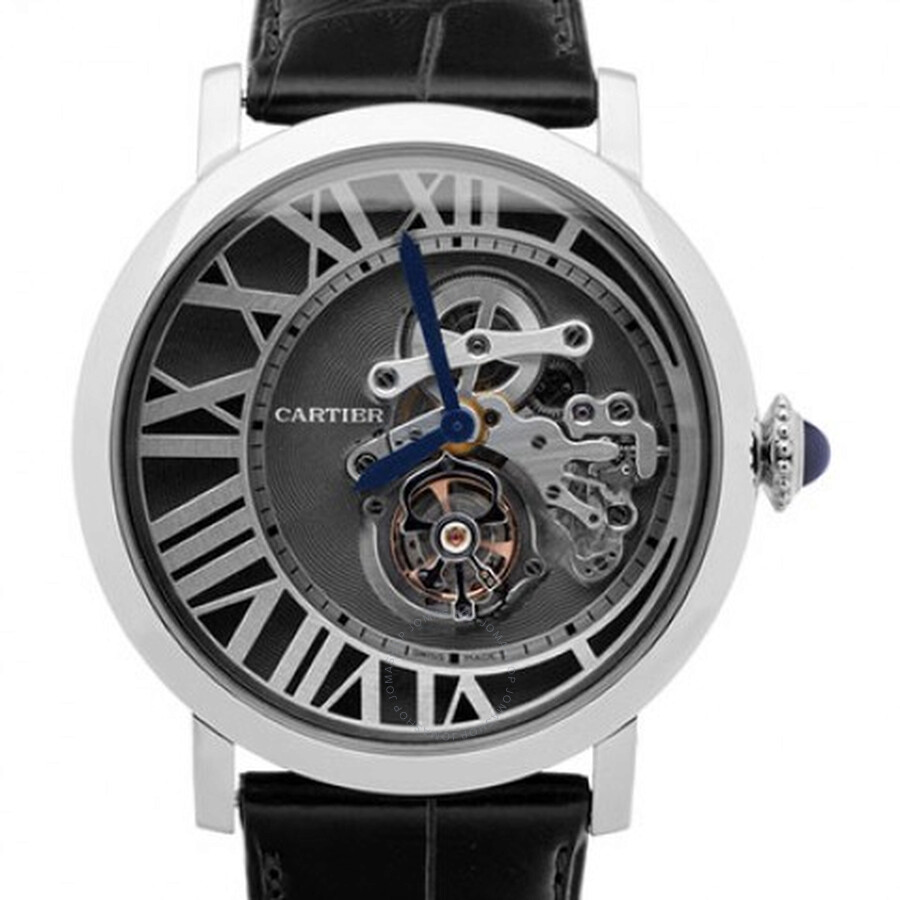 Cartier Rotonde de Cartier Reversed Tourbillon Mens Watch W1556214