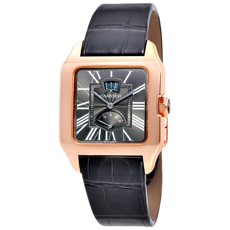 image watch men watches pre cartier owned mens ref santos