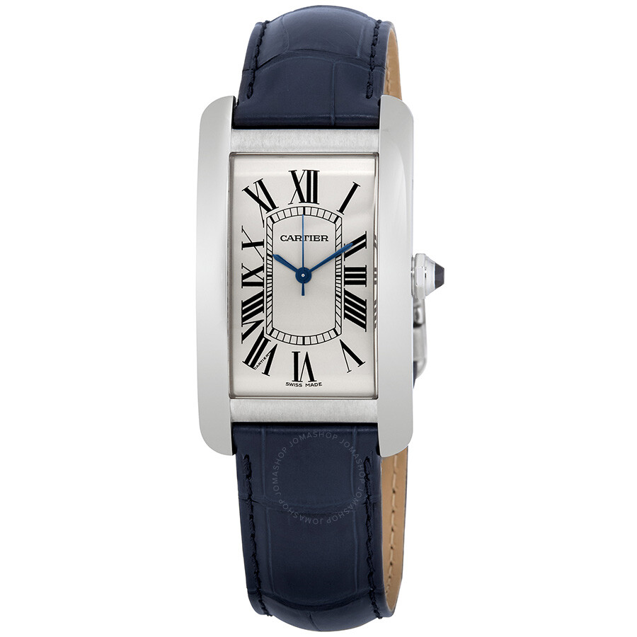 Cartier Tank Americaine Automatic Silver Dial Men's Watch ...
