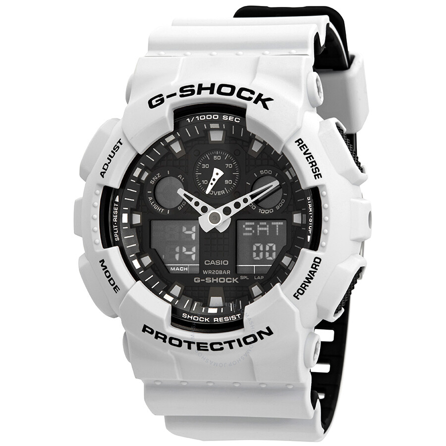 g shock ga 100 how to change time