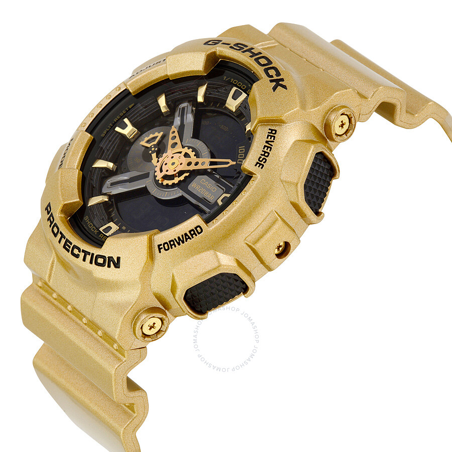 Casio g shock black dial gold colored resin mens watch ga110gd 9b casio g shock black dial gold colored resin mens watch ga110gd 9b gumiabroncs Images