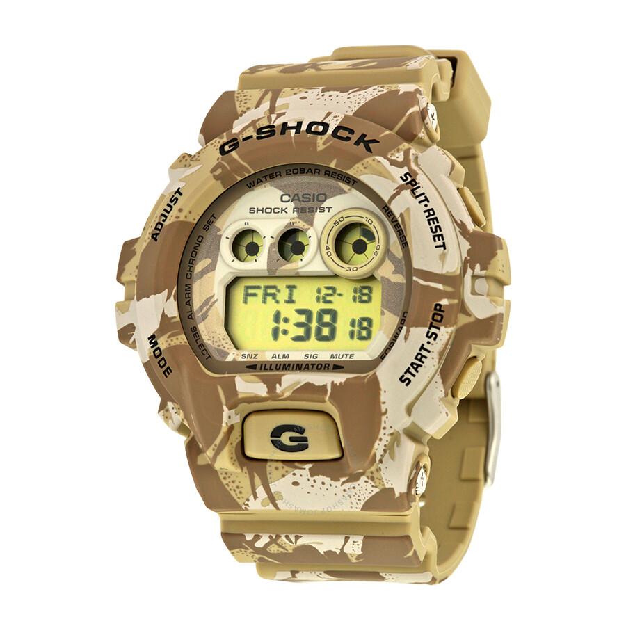 Casio G-Shock Light Camo Dial Resin Mens Watch GDX-6900MC-5