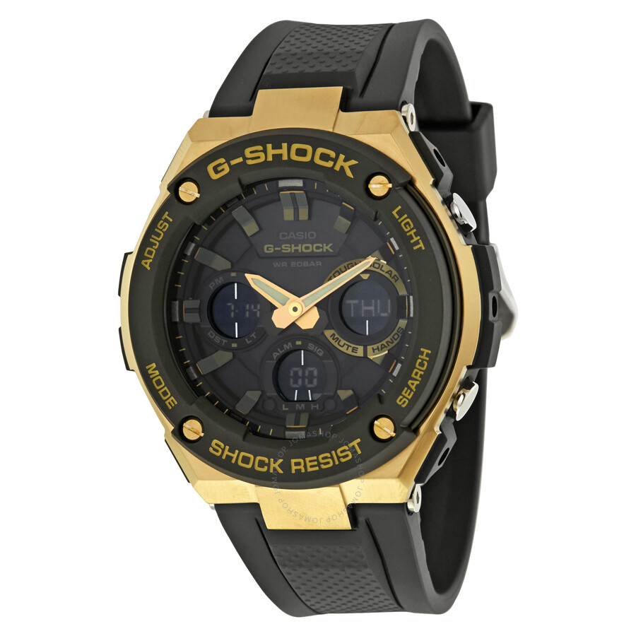 Casio g shock men 39 s watch gsts100g 1a g shock casio watches jomashop for Watches g shock