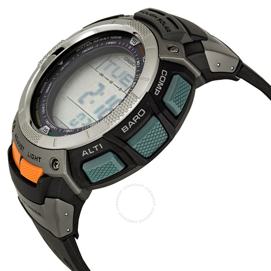 casio pathfinder solar triple sensor men s digital watch pag80 1v rh jomashop com Watch Casio Sport Pathfinder Manual Watch Casio Sport Pathfinder Manual