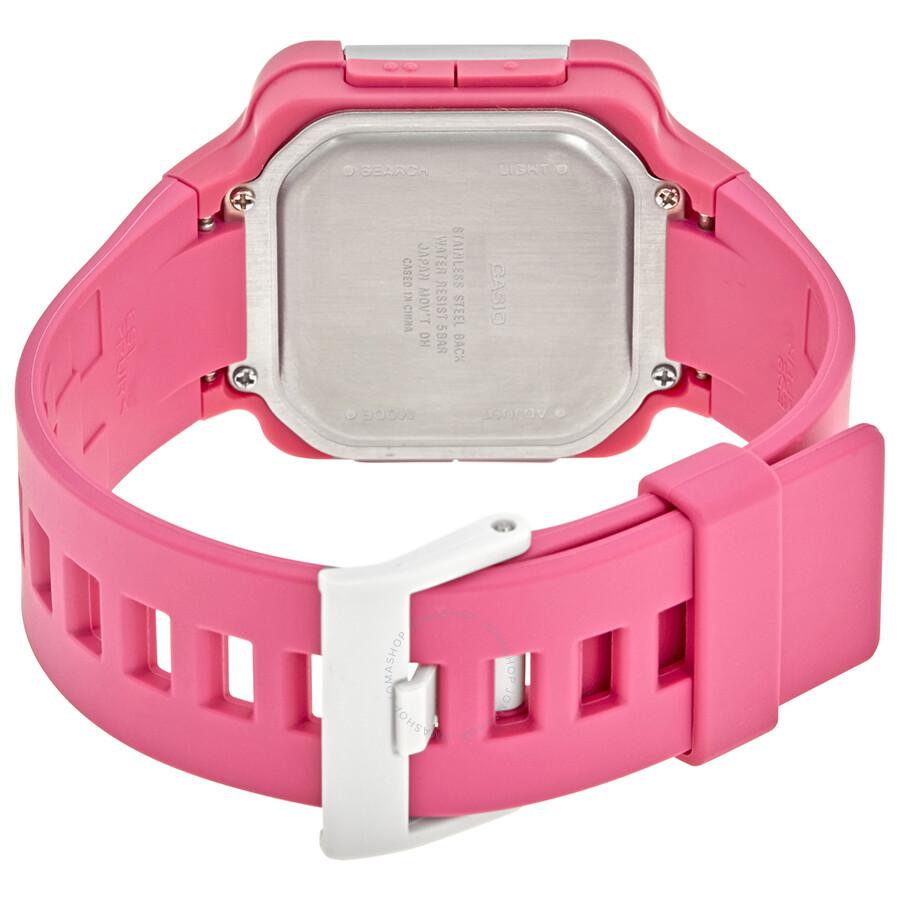 Manual Casio Lcf 20 20082012 Chevy Malibu Reese Tconnector Wiring Harness 78066 Array Pink Resin Ladies Digital Watch 4 Watches Rh Jomashop Com