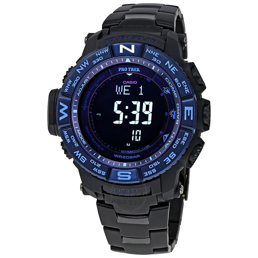Casio Pro Trek Mens Digital Multifunction Watch PRW3500SYT-1