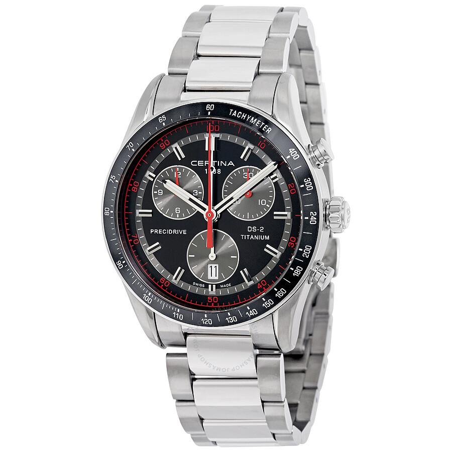 Certina DS - 2 Chrono Titanium Mens Quartz Watch C0244474405100
