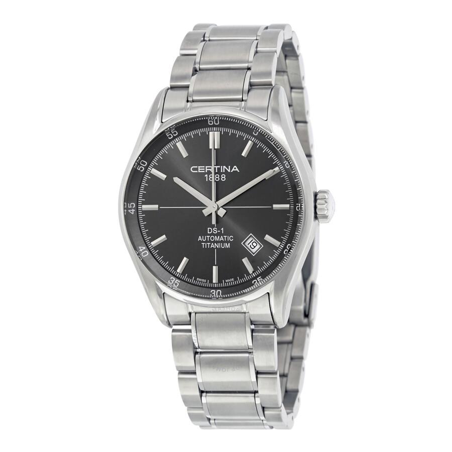 Certina DS 1 Titanium Automatic Mens Watch C006.407.44.081.00