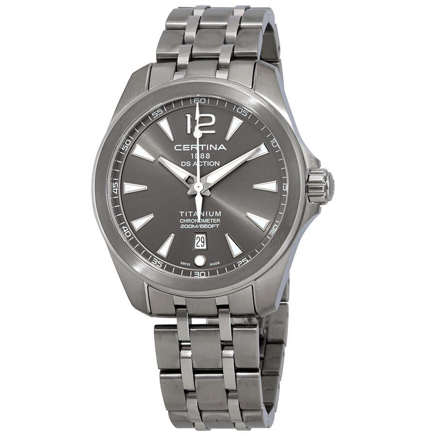 Certina DS Action Chronometer Grey Dial Mens Watch C032.851.44.087.00