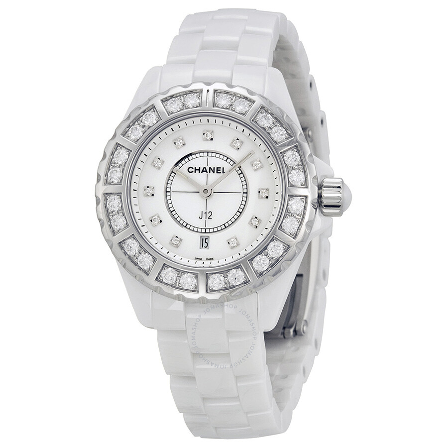 surface image watch jh is watches damaged bezel quartz white chanel ceramic ladies the on