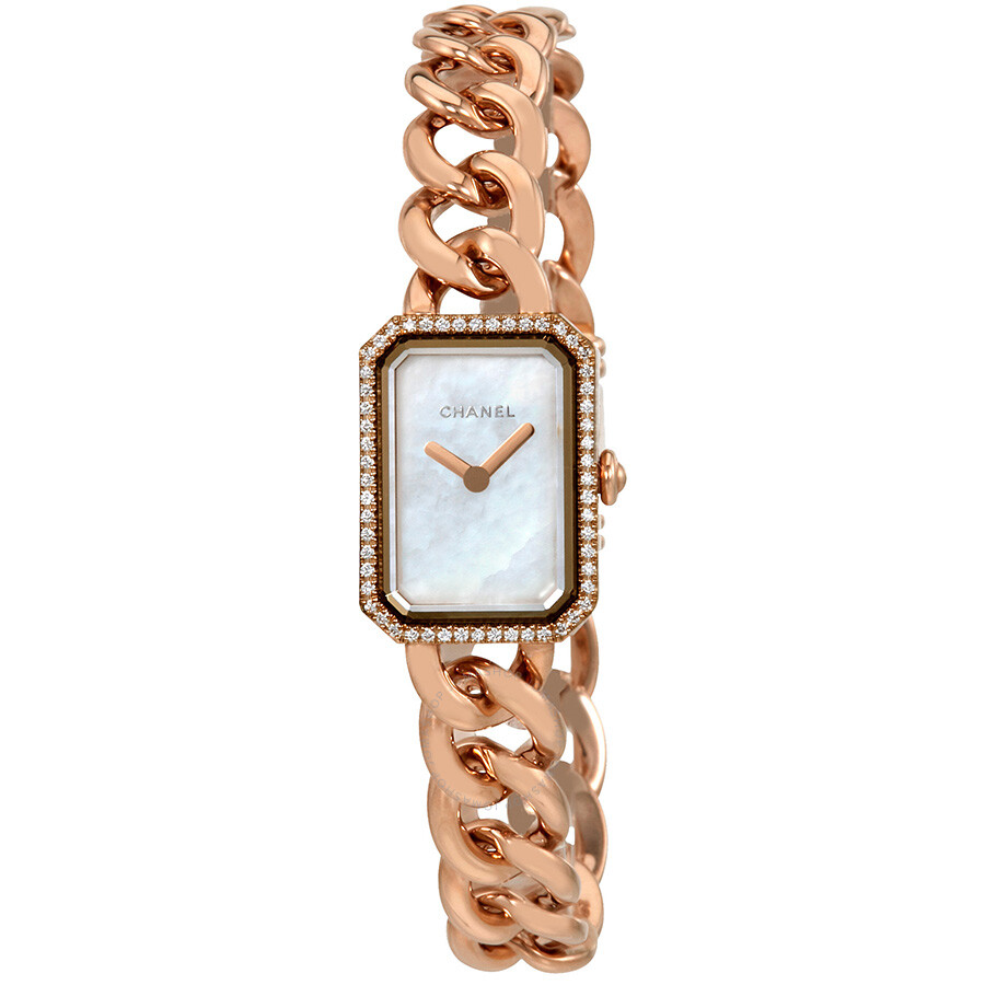 Chanel Premiere Mother of Pearl Dial Ladies Watch H4411