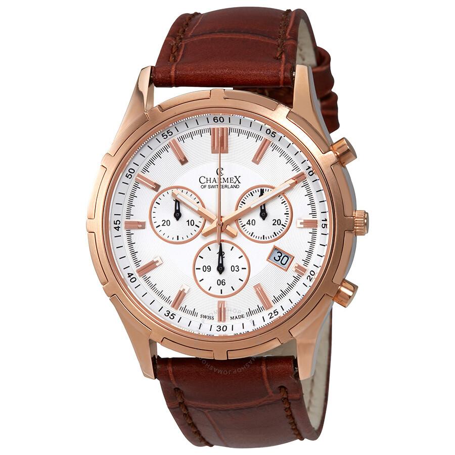 Charmex of Switzerland Hockenheim Chronograph Mens Watch 2835