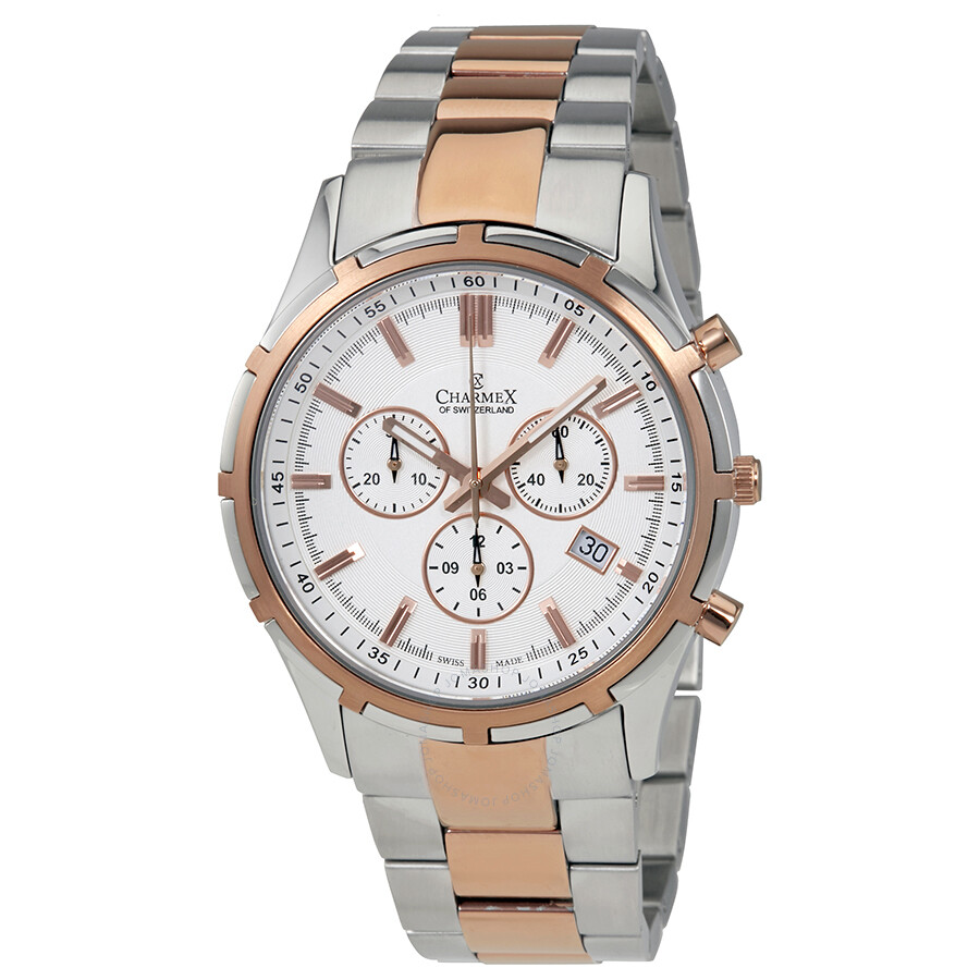 Charmex of Switzerland Hockenheim Chronograph Mens Watch 2850