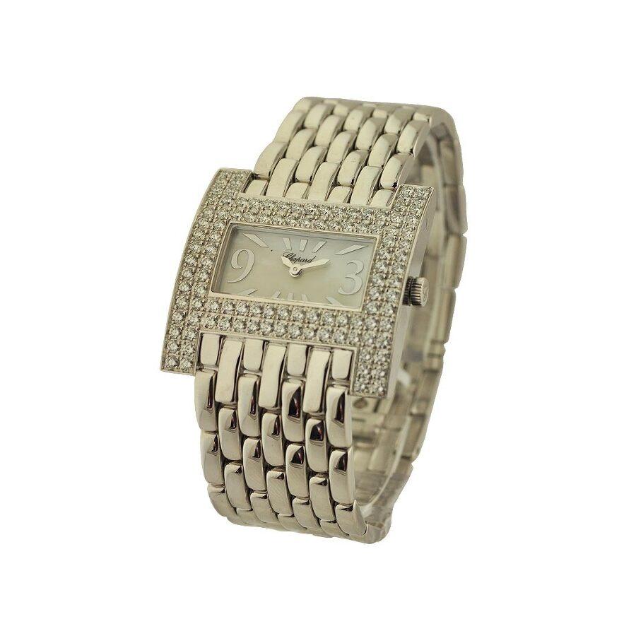 Chopard Classique Diamond White Dial Ladies Watch 109224-1001