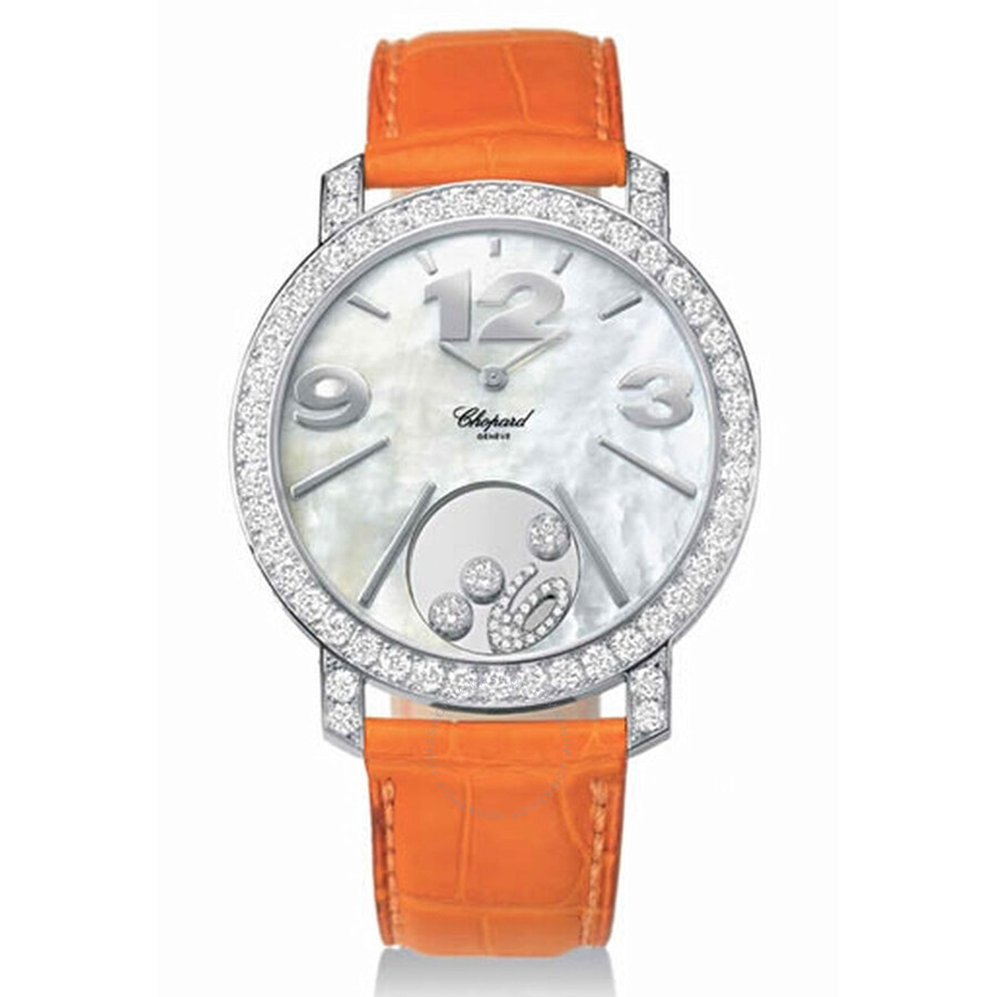 Chopard Happy Diamonds Mother of Pearl Diamond Dial Ladies Watch 207450-0001
